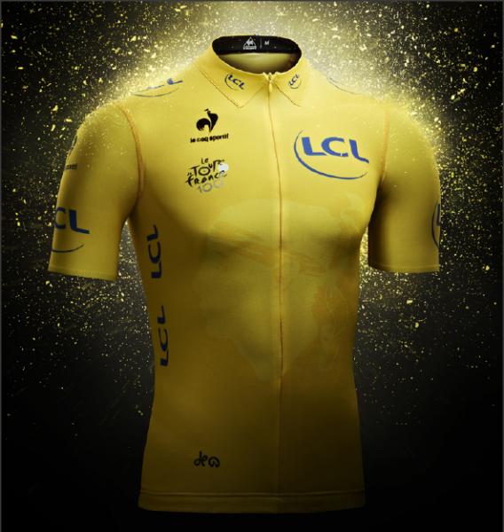 Camisa Amarela Tour 2013